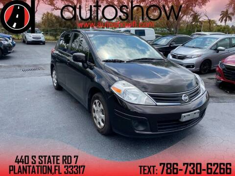 2011 Nissan Versa for sale at AUTOSHOW SALES & SERVICE in Plantation FL