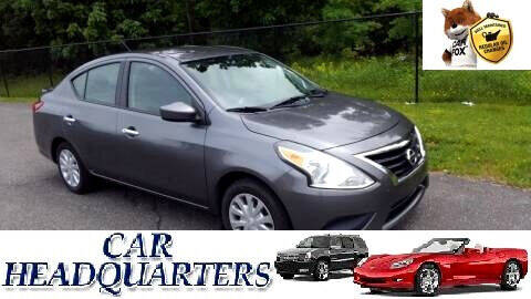 2016 Nissan Versa for sale at CAR  HEADQUARTERS in New Windsor NY