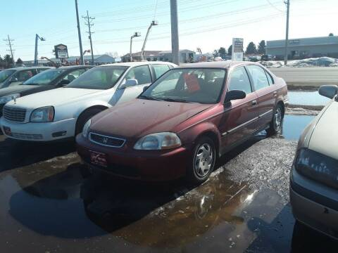 1997 Honda Civic for sale at BARNES AUTO SALES in Mandan ND