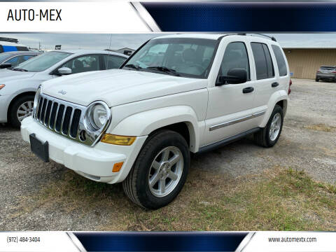 2006 Jeep Liberty for sale at AUTO-MEX in Caddo Mills TX