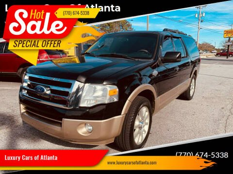 2011 Ford Expedition EL for sale at Luxury Cars of Atlanta in Snellville GA