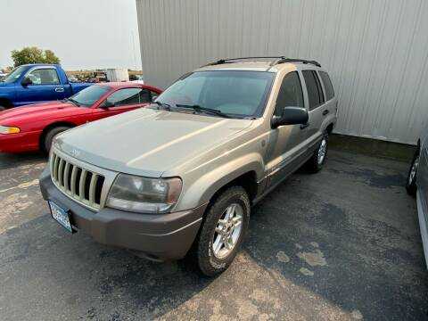 2004 Jeep Grand Cherokee for sale at Hill Motors in Ortonville MN