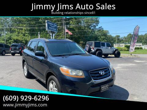 2011 Hyundai Santa Fe for sale at Jimmy Jims Auto Sales in Tabernacle NJ