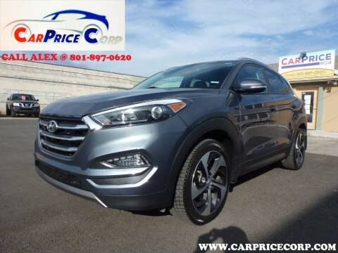 2016 Hyundai Tucson for sale at CarPrice Corp in Murray UT