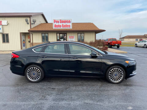 2017 Ford Fusion for sale at Pro Source Auto Sales in Otterbein IN