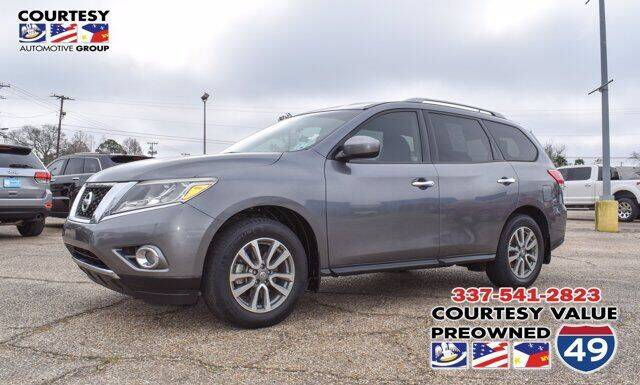 2016 Nissan Pathfinder for sale at Courtesy Value Pre-Owned I-49 in Lafayette LA