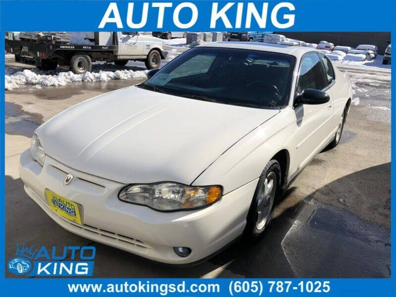 2003 Chevrolet Monte Carlo for sale at Auto King in Rapid City SD
