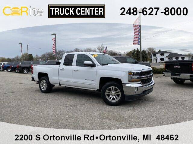 2017 Chevrolet Silverado 1500 for sale at Carite Truck Center in Ortonville MI