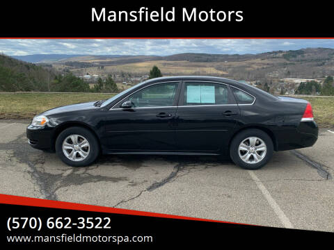 2014 Chevrolet Impala Limited for sale at Mansfield Motors in Mansfield PA