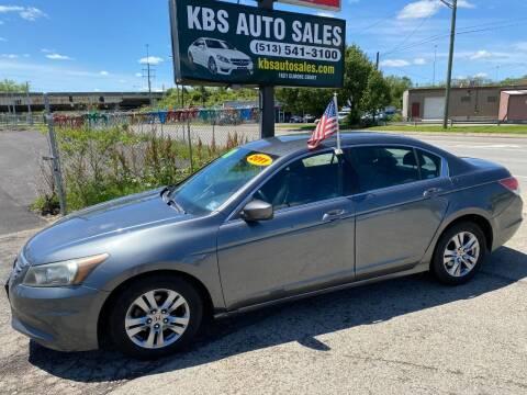 2011 Honda Accord for sale at KBS Auto Sales in Cincinnati OH