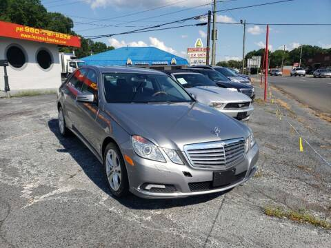 2010 Mercedes-Benz E-Class for sale at Lara's Auto Sales LLC in Concord NC