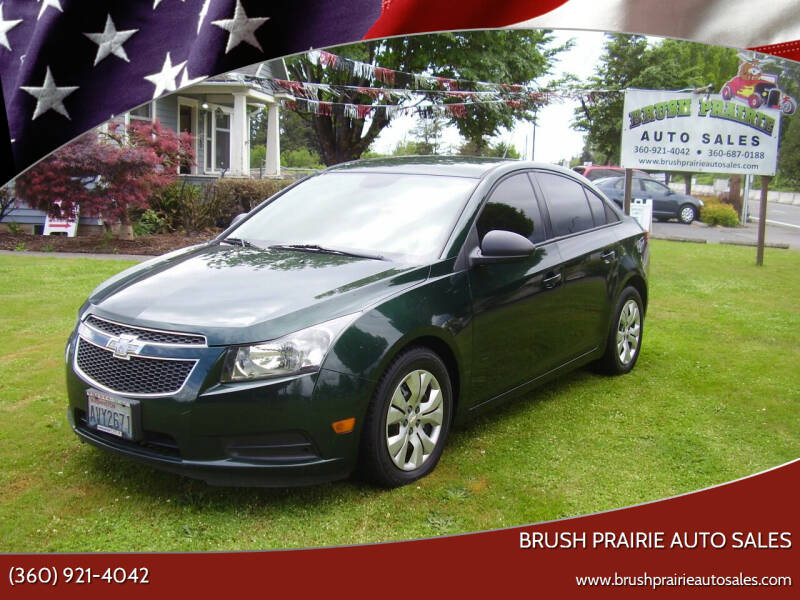 2014 Chevrolet Cruze for sale at Brush Prairie Auto Sales in Battle Ground WA