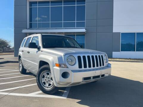 2009 Jeep Patriot for sale at TWIN CITY MOTORS in Houston TX