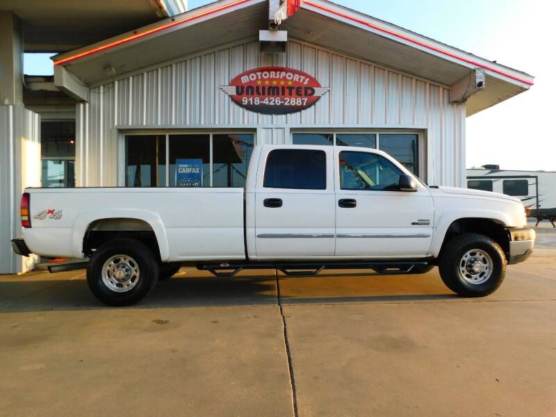 2005 Chevrolet Silverado 3500 for sale at Motorsports Unlimited in McAlester OK