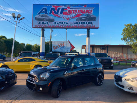 2015 MINI Countryman for sale at ANF AUTO FINANCE in Houston TX