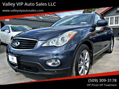 2009 Infiniti EX35 for sale at Valley VIP Auto Sales LLC in Spokane Valley WA