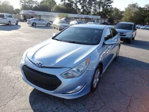 2012 Hyundai Sonata Hybrid for sale at HAPPY TRAILS AUTO SALES LLC in Taylors SC