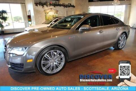 2012 Audi A7 for sale at Discover Pre-Owned Auto Sales in Scottsdale AZ