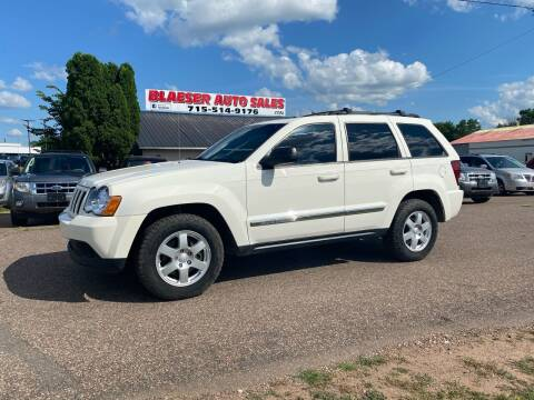 2010 Jeep Grand Cherokee for sale at BLAESER AUTO LLC in Chippewa Falls WI