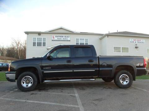 2005 Chevrolet Silverado 1500HD for sale at SOUTHERN SELECT AUTO SALES in Medina OH