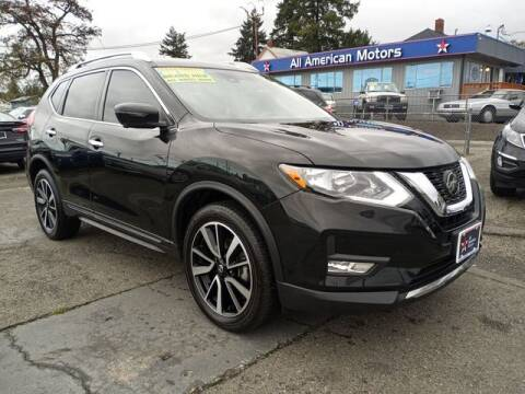 2019 Nissan Rogue for sale at All American Motors in Tacoma WA