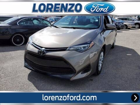 2019 Toyota Corolla for sale at Lorenzo Ford in Homestead FL