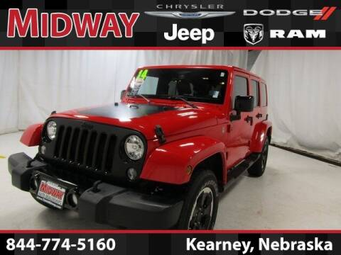 2014 Jeep Wrangler Unlimited for sale at MIDWAY CHRYSLER DODGE JEEP RAM in Kearney NE