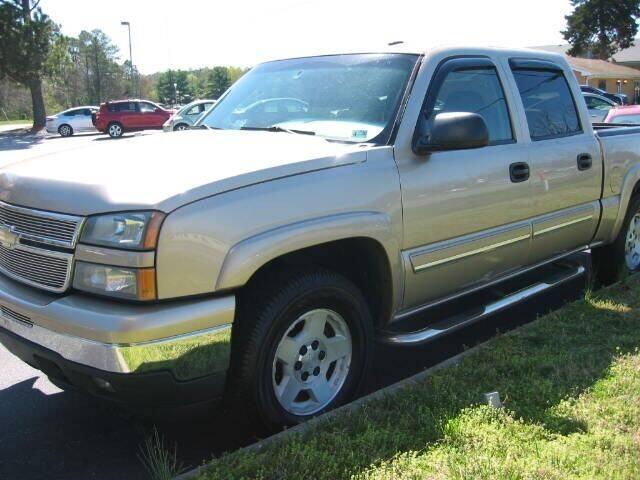2006 Chevrolet Silverado 1500 for sale at HL McGeorge Auto Sales Inc in Tappahannock VA