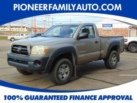 2008 Toyota Tacoma for sale at Pioneer Family auto in Marietta OH