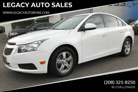 2014 Chevrolet Cruze for sale at LEGACY AUTO SALES in Boise ID