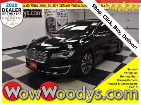 2017 Lincoln MKZ for sale at WOODY'S AUTOMOTIVE GROUP in Chillicothe MO