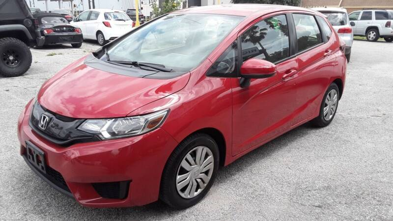 2017 Honda Fit for sale at RICKY'S AUTOPLEX in San Antonio TX