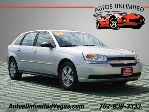 2004 Chevrolet Malibu Maxx for sale at Autos Unlimited in Las Vegas NV