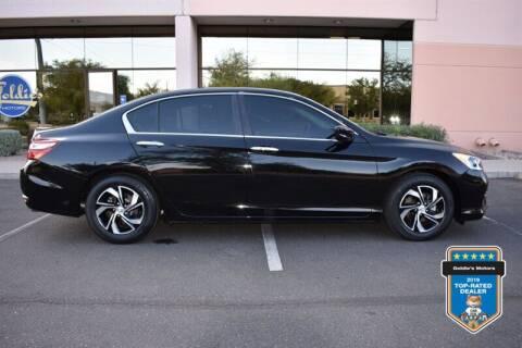 2017 Honda Accord for sale at GOLDIES MOTORS in Phoenix AZ