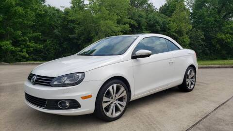 2013 Volkswagen Eos for sale at Houston Auto Preowned in Houston TX