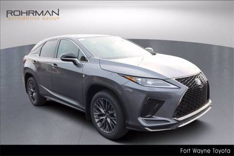 2022 Lexus RX 350 for sale at BOB ROHRMAN FORT WAYNE TOYOTA in Fort Wayne IN