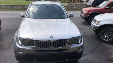 2008 BMW X3 for sale at GET N GO USED AUTO & REPAIR LLC in Martinsburg WV