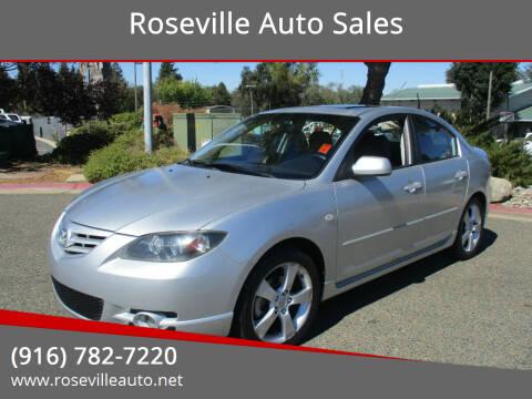 2004 Mazda MAZDA3 for sale at Roseville Auto Sales 131 in Roseville CA