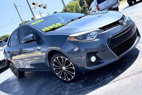 2014 Toyota Corolla for sale at Island Auto in Grand Island NE