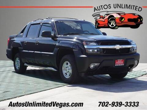 2005 Chevrolet Avalanche for sale at Autos Unlimited in Las Vegas NV