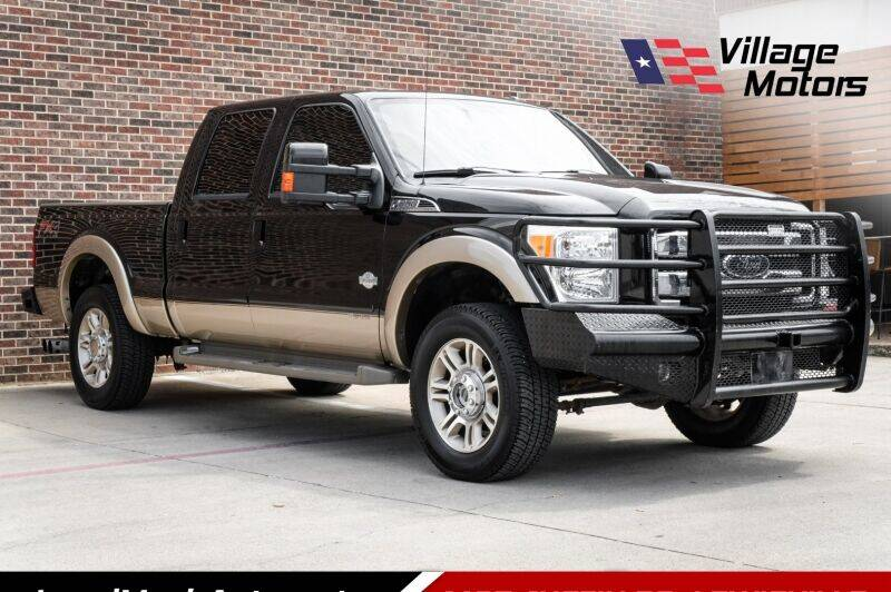 2014 Ford F-250 Super Duty for sale at Village Motors in Lewisville TX
