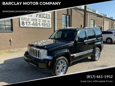 2011 Jeep Liberty for sale at BARCLAY MOTOR COMPANY in Arlington TX