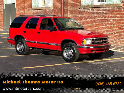 1996 Chevrolet Blazer for sale at Michael Thomas Motor Co in Saint Charles MO