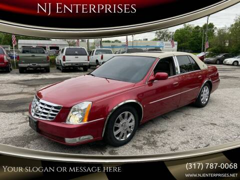 2006 Cadillac DTS for sale at NJ Enterprises in Indianapolis IN