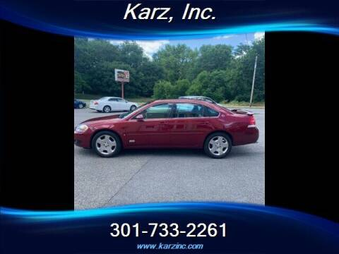 2007 Chevrolet Impala for sale at Karz INC in Funkstown MD