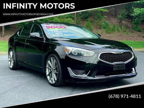 2014 Kia Cadenza for sale at INFINITY MOTORS in Gainesville GA