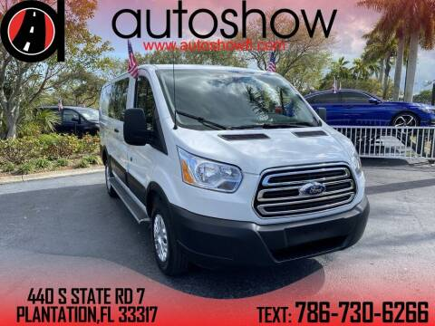 2019 Ford Transit Cargo for sale at AUTOSHOW SALES & SERVICE in Plantation FL