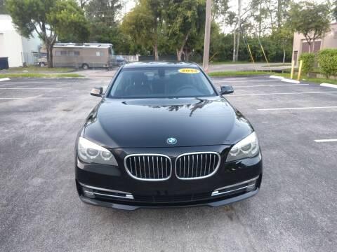 2014 BMW 7 Series for sale at Best Price Car Dealer in Hallandale Beach FL