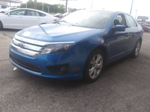 2012 Ford Fusion for sale at Best Buy Autos in Mobile AL