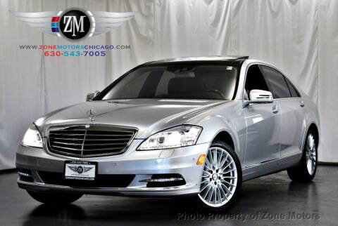 2010 Mercedes-Benz S-Class for sale at ZONE MOTORS in Addison IL